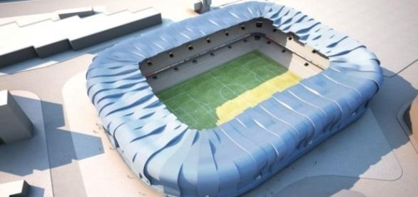 Así será el futuro estadio de Balaídos, cuyas obras ya han comenzado.