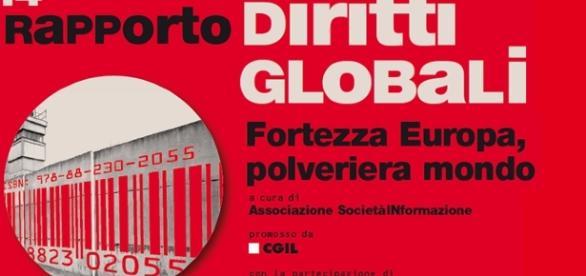 """Il 14° rapporto """"Diritti globali"""", a cura della Associazione Società InFormazione, promosso dalla Cgil"""