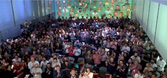 Imagem exibe homenagem no Jornal Nacional