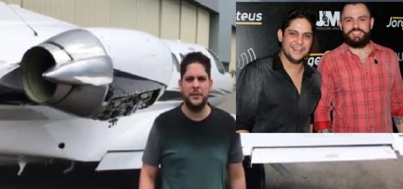 Jorge explica problema em avião - Imagem/Google