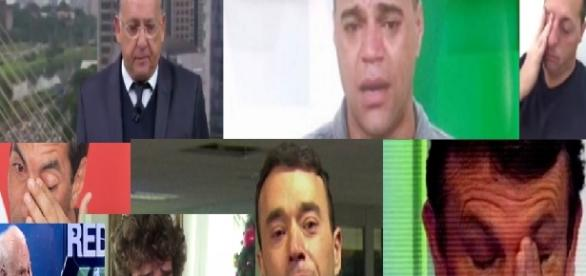 Lágrimas na televisão marcam dia triste - Google