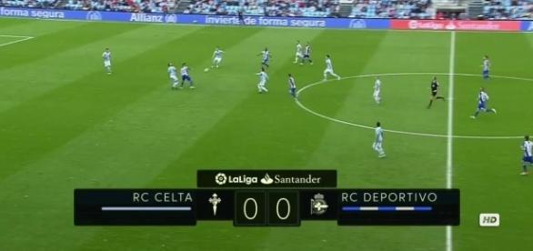 Momento del partido entre Celta y Deportivo, retransmitido esta temporada por beIN SPORTS.