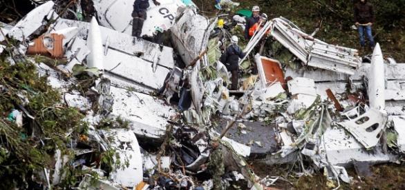 Notícias dos sobreviventes do acidente
