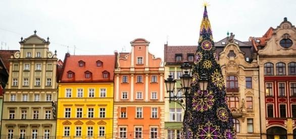 Plaza de Mercado de Breslavia - lugar especial para estas navidades.