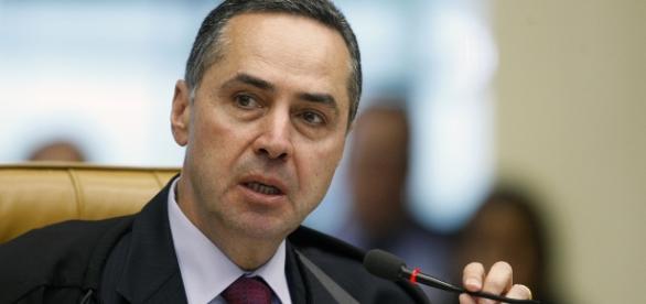 Presidente da 1ª Turma do STF, ministro Luís Roberto Barroso