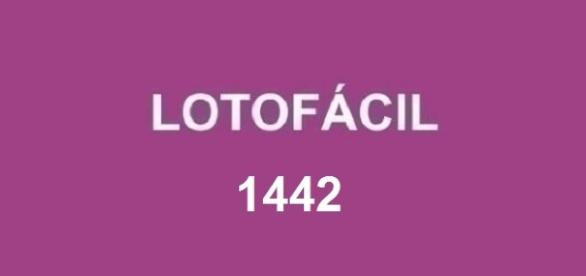 Resultado do sorteio 1442 da Lotofácil