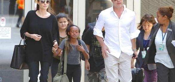 Angelina Jolie y Brad Pitt, un divorcio de cine |