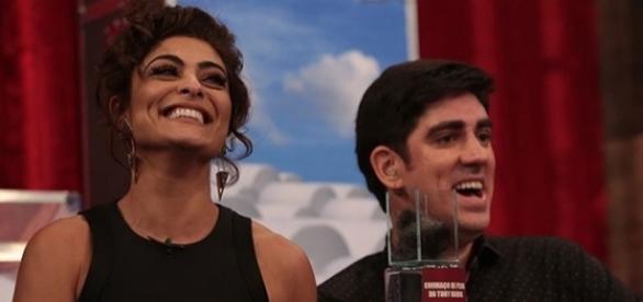 Atriz Juliana Paes é a convidada de Marcelo Adnet no 'Adnight'