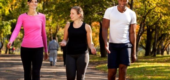 Benefícios da caminhada para a saúde