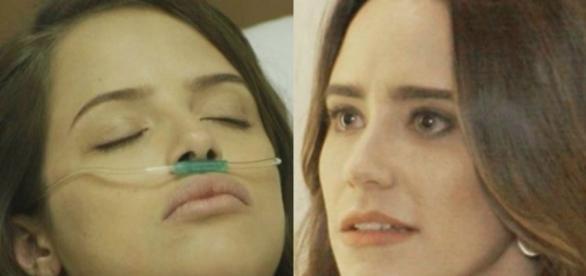 Camila e Bruna em 'Haja Coração' (Divulgação/Globo)