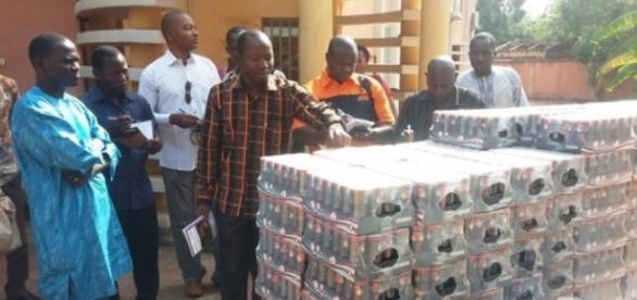 Des produits périmés en Afrique de l'Ouest