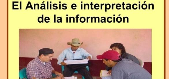 El Análisis e interpretación de la información. ¿ En que consiste ... - slideplayer.es