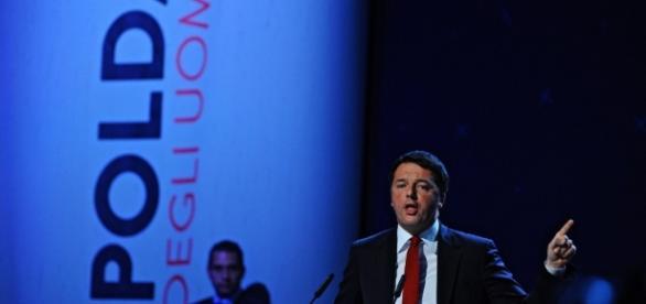 Matteo Renzi durante la Leopolda