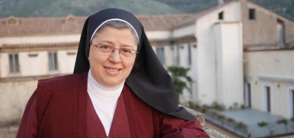 Suor Anna Maria dell'Ordine delle Redentoriste di Sant'Agata dei Goti (Foto: redentoristesantagata.it)