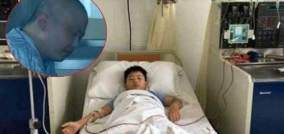Garoto de apenas 8 anos engorda mais de 10 quilos para doar medula ao seu pai