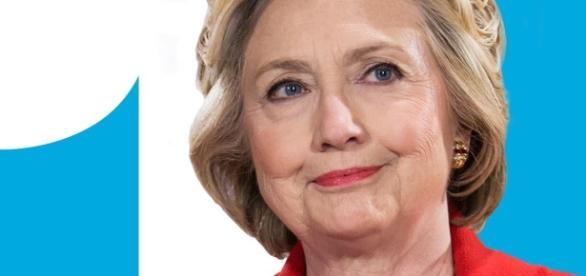 Kandydatka Partii Demokratycznej Hillary Clinton