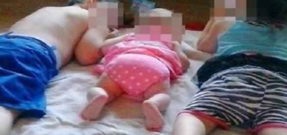 Os três filhos Ashlee Hutt recebiam heroína da mãe
