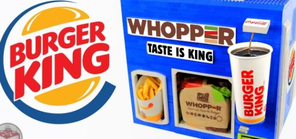 Vending machines with Burger King? I love it!!!