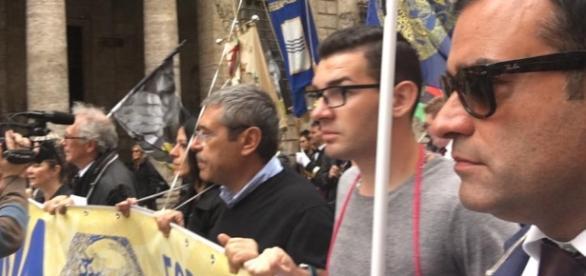 Amnistia e indulto, Cuffaro in prima fila alla marcia radicale a Roma