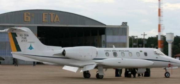 Avião da FAB no Aeroporto de Brasília