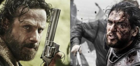 Game of Thrones VS The Walking Dead: qual série teve o maior número de mortes?