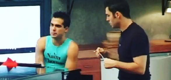 """Naim Tomas y Juan Camus creando """"mi música es tu voz"""""""