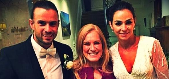 Vanessa Martins e Marco Costa casaram