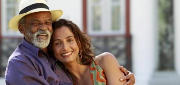 Camila Pitanga foi visitar o pai várias vezes no Hospital