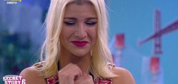 Cristiana entrou com o namorado no programa da TVI.