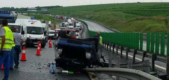 Gravul Accident de pe Autostrada soarelui a ucis 3 români