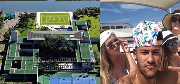 Neymar Júnior comprou uma mansão no Rio de Janeiro