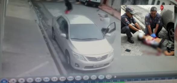 Policial reage a assalto e mata três ladrões