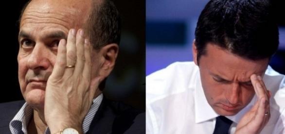 Renzi e Bersani ai ferri corti: aria di scissione nel Pd
