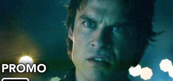 The Vampire Diaries 8x04: Damon continua sendo manipulado por Sybil (Foto: CW/YouTube)