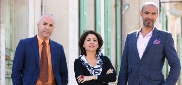 Trois experts vont marier des couples, ils devront décider s'ils restent mariés ou s'ils divorcent (Pierre Olivier/M6)