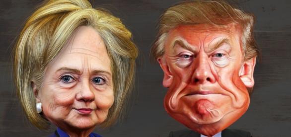 Elecciones 8 de noviembre entre la demócrata Hillary Clinton y el republicano Donald Trump