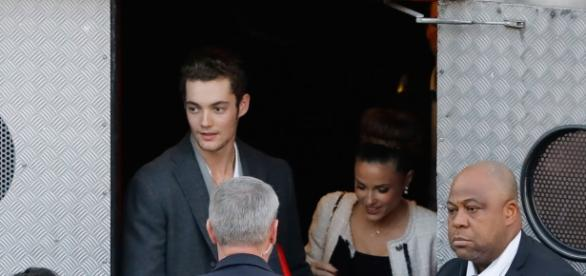 PHOTOS – Capucine Anav accompagne Louis Sarkozy au meeting