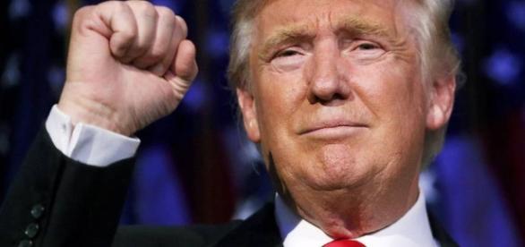 Trump é eleito o 45º presidente dos Estados Unidos.