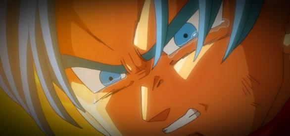 Trunks llorando porque podría morir
