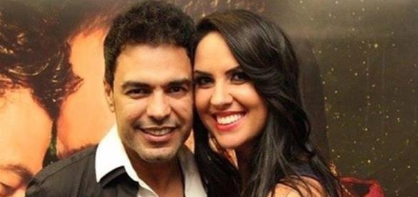 Zezé Di Camargo e a namorada Graciele Lacerda (Famosidades - com.br)