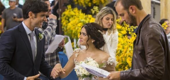Emoção toma conta dos bastidores do casamento de Shirlipe; veja ... - globo.com