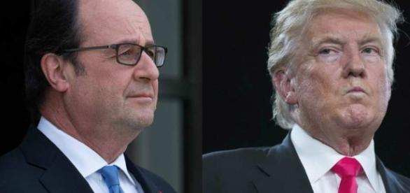 """Hollande réplique à Trump : """"La France sera toujours la France ... - lesechos.fr"""