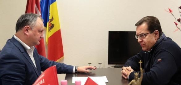 Igor Dodon a discutat cu Marian Lupu despre alegeri parlamentare ... - a-tv.md