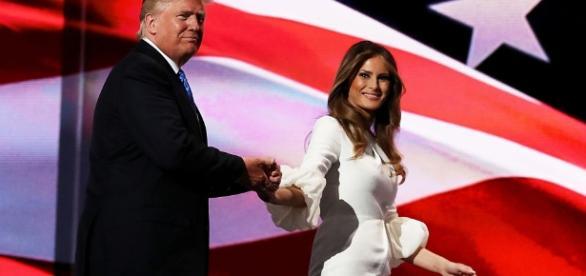 Il sogno americano di Melania Trump, l'ex modella slovena che ... - fanpage.it