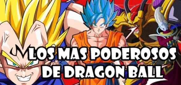 los más poderosos de dragon ball