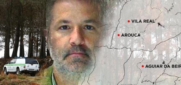 Pedro Dias, o alegado homicida de Aguiar da Beira, entregou-se à PJ