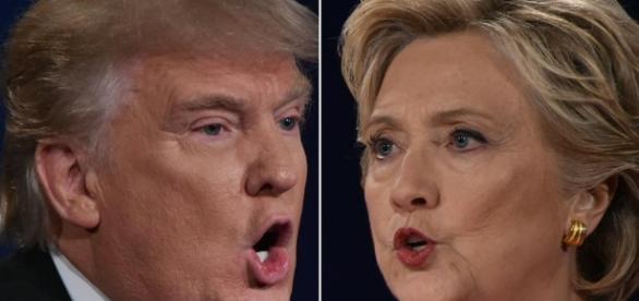 Trump se impone a Clinton y arrasa en las redes sociales