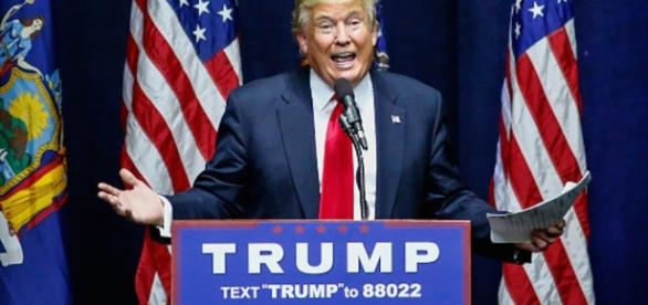 Vince Donald Trump, 45° Presidente degli USA.