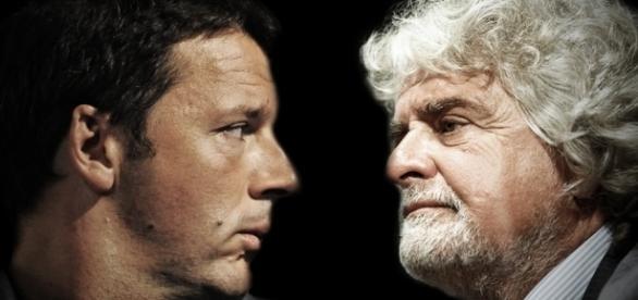 Beppe Grillo contro Matteo Renzi, sporgerò denuncia