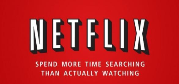 Logo de la plate-forme de streaming vidéo, Netflix